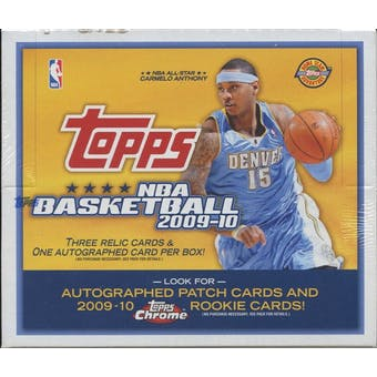 2009/10 Topps Basketball Jumbo Box