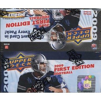 2009 Upper Deck First Edition Football 36-Pack Box