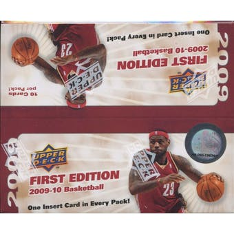 2009/10 Upper Deck First Edition Basketball 36-Pack Box