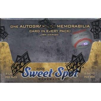 2009 Upper Deck Sweet Spot Baseball Hobby Box