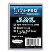 Ultra Pro 10 Count 2-Piece Plastic Storage Box