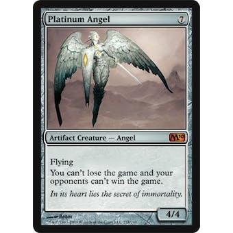 Magic the Gathering 2010 Single Platinum Angel Foil