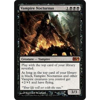 Magic the Gathering 2010 Single Vampire Nocturnus Foil
