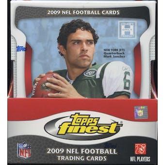 2009 Topps Finest Football Hobby Box