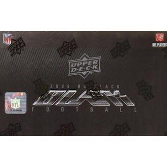 2009 Upper Deck Black Football Hobby Box