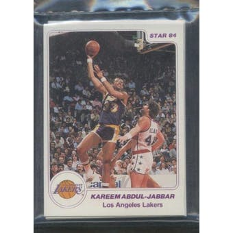 1984/85 Star Co. Basketball Lakers Arena Bagged Set