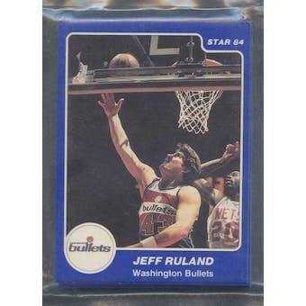 1983/84 Star Co. Basketball Bullets Bagged Set
