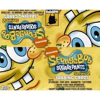 SpongeBob SquarePants Series 2 Hobby Box (2009 Topps)
