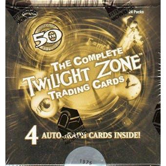 Twilight Zone 50th Anniversary Trading Cards Box (Rittenhouse 2009)
