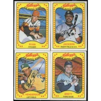 1981 Kellogg's Baseball Set (NM-MT)