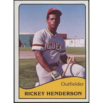 1979 TCMA Ogden A's Baseball Set (Rickey Henderson) (NM-NMMT)