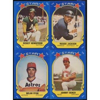 1981 Fleer Star Stickers Baseball Complete Set (NM)