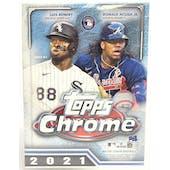 2021 Topps Chrome Baseball 8-Pack Blaster Box (Lot of 6)