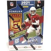 2021 Panini Donruss Elite Football 4-Pack Blaster Box (Lot of 6)
