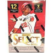 2021 Panini Select Baseball 3-Pack Blaster Box (Lot of 6)