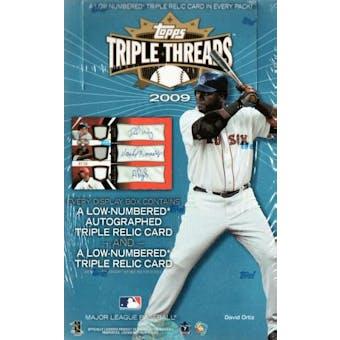 2009 Topps Triple Threads Baseball Hobby Box