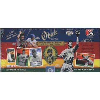2009 TriStar Obak Baseball Hobby Box