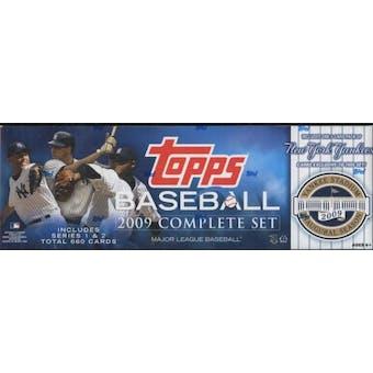 2009 Topps Factory Set Baseball (Box) (New York Yankees)