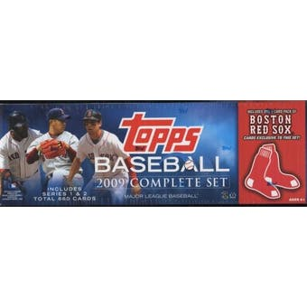 2009 Topps Factory Set Baseball (Box) (Boston Red Sox)