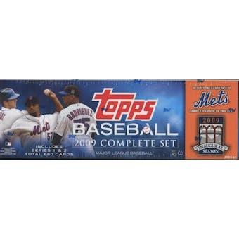 2009 Topps Factory Set Baseball (Box) (New York Mets)