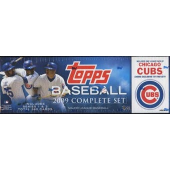 2009 Topps Factory Set Baseball (Box) (Chicago Cubs)