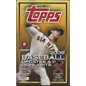 2009 Topps Updates & Highlights Baseball Hobby Box