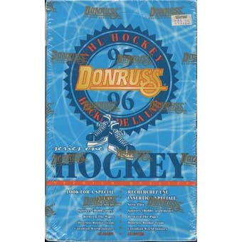 1995/96 Donruss Series 1 Bilingual Hockey Hobby Box