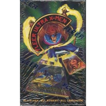 Fleer Ultra X-Men Hobby Box (1995 Fleer)