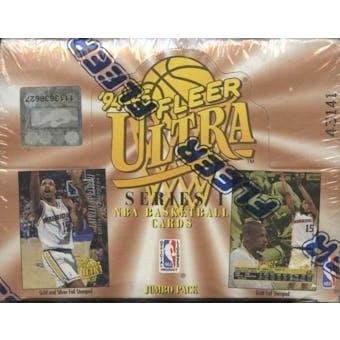 1994/95 Fleer Ultra Series 1 Basketball Jumbo Retail Box