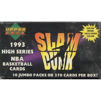1993/94 Upper Deck Series 2 Basketball Blaster Box