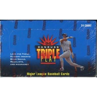 1994 Donruss Triple Play Baseball Retail Box