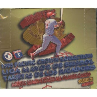 1995 Pacific Crown Collection Series 2 Spanish Baseball Hobby Box