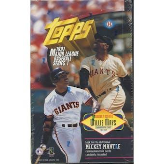 1997 Topps Series 1 Baseball Hobby Box