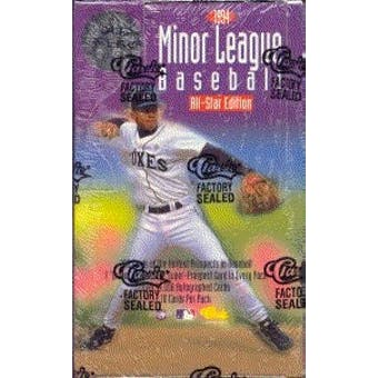 1994 Classic Minor League Baseball Hobby Box