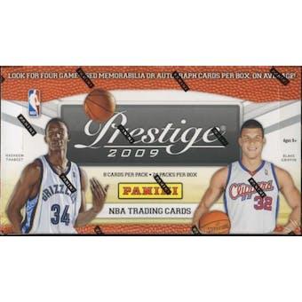 2009/10 Panini Prestige Basketball Hobby Box