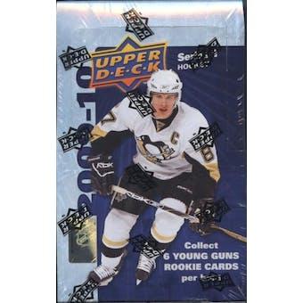 2009/10 Upper Deck Series 1 Hockey Hobby Box