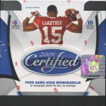 2009 Donruss (Leaf) Certified Football Hobby Box