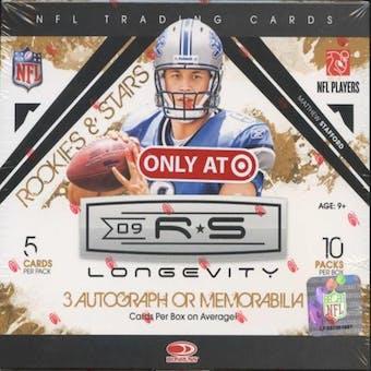 2009 Donruss Rookies & Stars Longevity Football Hobby Box