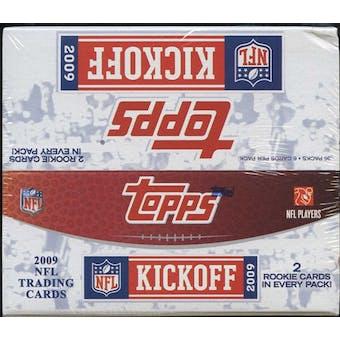 2009 Topps Kickoff Football Box