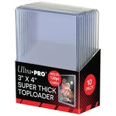 Ultra Pro 3x4 Super Thick 120pt. Toploaders 500 Count Case