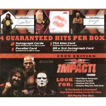 2009 Tristar TNA Impact Wrestling Hobby Box