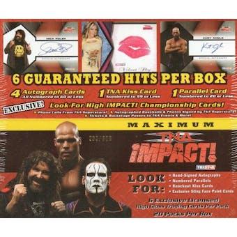 2009 Tristar TNA Maximum Impact Wrestling Hobby Box
