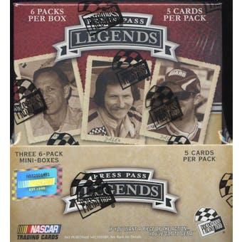 2009 Press Pass Legends Racing Hobby Box