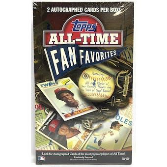 2003 Topps All-Time Fan Favorites Baseball Hobby Box