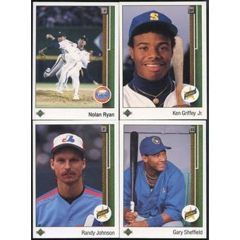 1989 Upper Deck Baseball Complete Low # Set (NM-MT)
