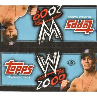 2009 Topps WWE Wrestling Hobby Box