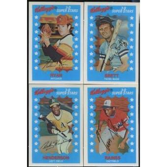 1982 Kellogg's Baseball Set (NM-MT)