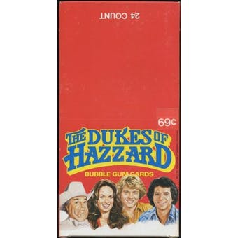 Dukes of Hazzard Rack Box (1981 Donruss)