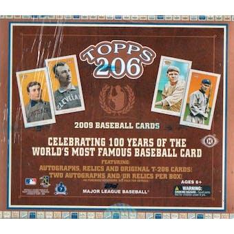 2009 Topps T-206 Baseball Hobby Box