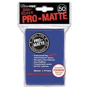 Ultra Pro Pro-Matte Blue Deck Protectors (50 count pack)